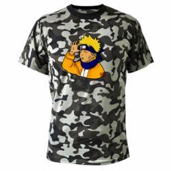 Камуфляжная футболка Narutooo