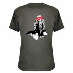 Камуфляжна футболка Недзуко - сенпай