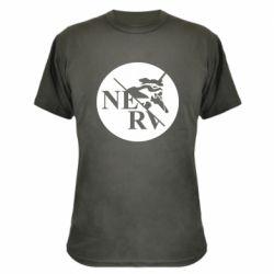 Камуфляжна футболка Nerv