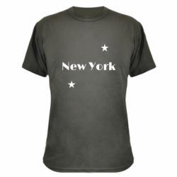 Камуфляжная футболка New York and stars
