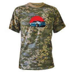 Камуфляжная футболка Nissan GR-R Japan