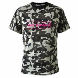 Камуфляжна футболка Not standard