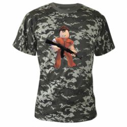 Камуфляжна футболка Roblox Prisoner
