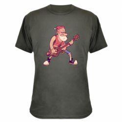 Камуфляжна футболка Rock'n'roll Santa