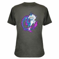Камуфляжна футболка Sisu Dragon Art
