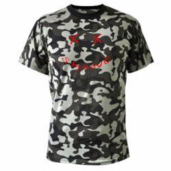 Камуфляжна футболка Smoove
