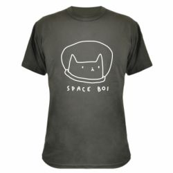 Камуфляжна футболка Space boi