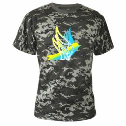 Камуфляжна футболка Україна Ластівка