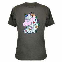 Камуфляжна футболка Unicorn Princess