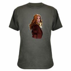 Камуфляжна футболка Vanda's portrait