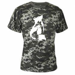 Камуфляжная футболка Wolf And Fox