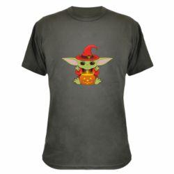 Камуфляжна футболка Yoda conjures