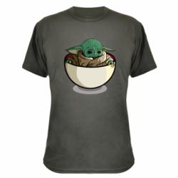 Камуфляжна футболка Йода