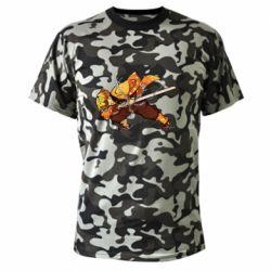 Камуфляжна футболка Zenitsu Demon Slayer