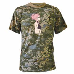 Камуфляжная футболка Zero Two