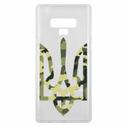 Чехол для Samsung Note 9 Камуфляжный герб Украины