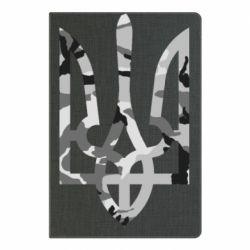 Блокнот А5 Камуфляжный герб Украины