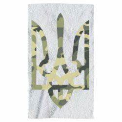 Полотенце Камуфляжный герб Украины