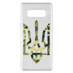 Чехол для Samsung Note 8 Камуфляжный герб Украины