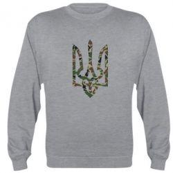 Реглан (свитшот) Камуфляжный герб Украины - FatLine