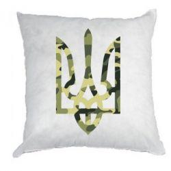 Подушка Камуфляжный герб Украины - FatLine