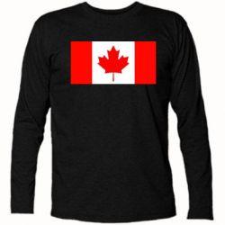Футболка с длинным рукавом Канада - FatLine