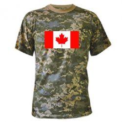 Камуфляжная футболка Канада - FatLine