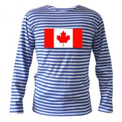 Тельняшка с длинным рукавом Канада - FatLine