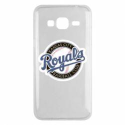 Чохол для Samsung J3 2016 Kansas City Royals