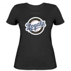 Женская футболка Kansas City Royals - FatLine