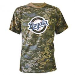 Камуфляжная футболка Kansas City Royals - FatLine