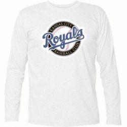 Футболка с длинным рукавом Kansas City Royals - FatLine