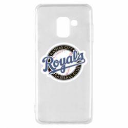 Чохол для Samsung A8 2018 Kansas City Royals