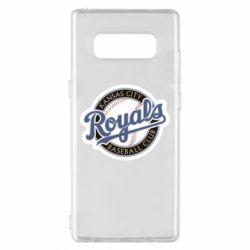 Чохол для Samsung Note 8 Kansas City Royals