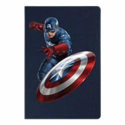 Блокнот А5 Капитан Америка