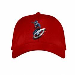 Детская кепка Капитан Америка - FatLine