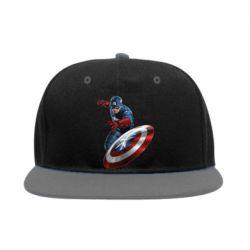 Снепбек Капитан Америка - FatLine