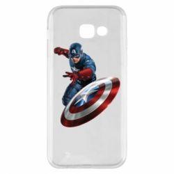 Чехол для Samsung A5 2017 Капитан Америка