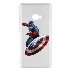 Чохол для Xiaomi Mi Note 2 Капітан Америка