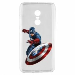 Чохол для Xiaomi Redmi Note 4 Капітан Америка