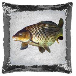 Подушка-хамелеон Карасик