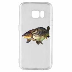 Чехол для Samsung S7 Карасик