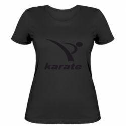 Женская футболка Karate