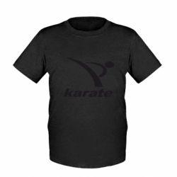 Детская футболка Karate - FatLine