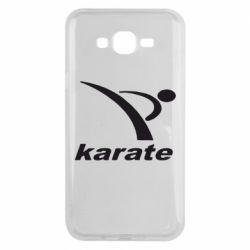 Чехол для Samsung J7 2015 Karate