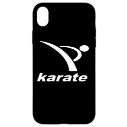 Чехол для iPhone XR Karate