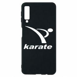 Чехол для Samsung A7 2018 Karate