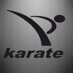 Наклейка Karate