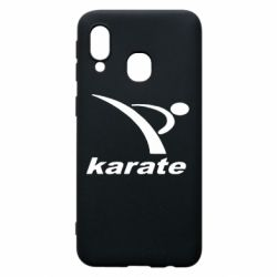 Чехол для Samsung A40 Karate