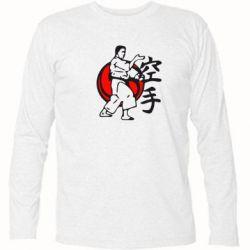 Футболка с длинным рукавом Каратэ - FatLine